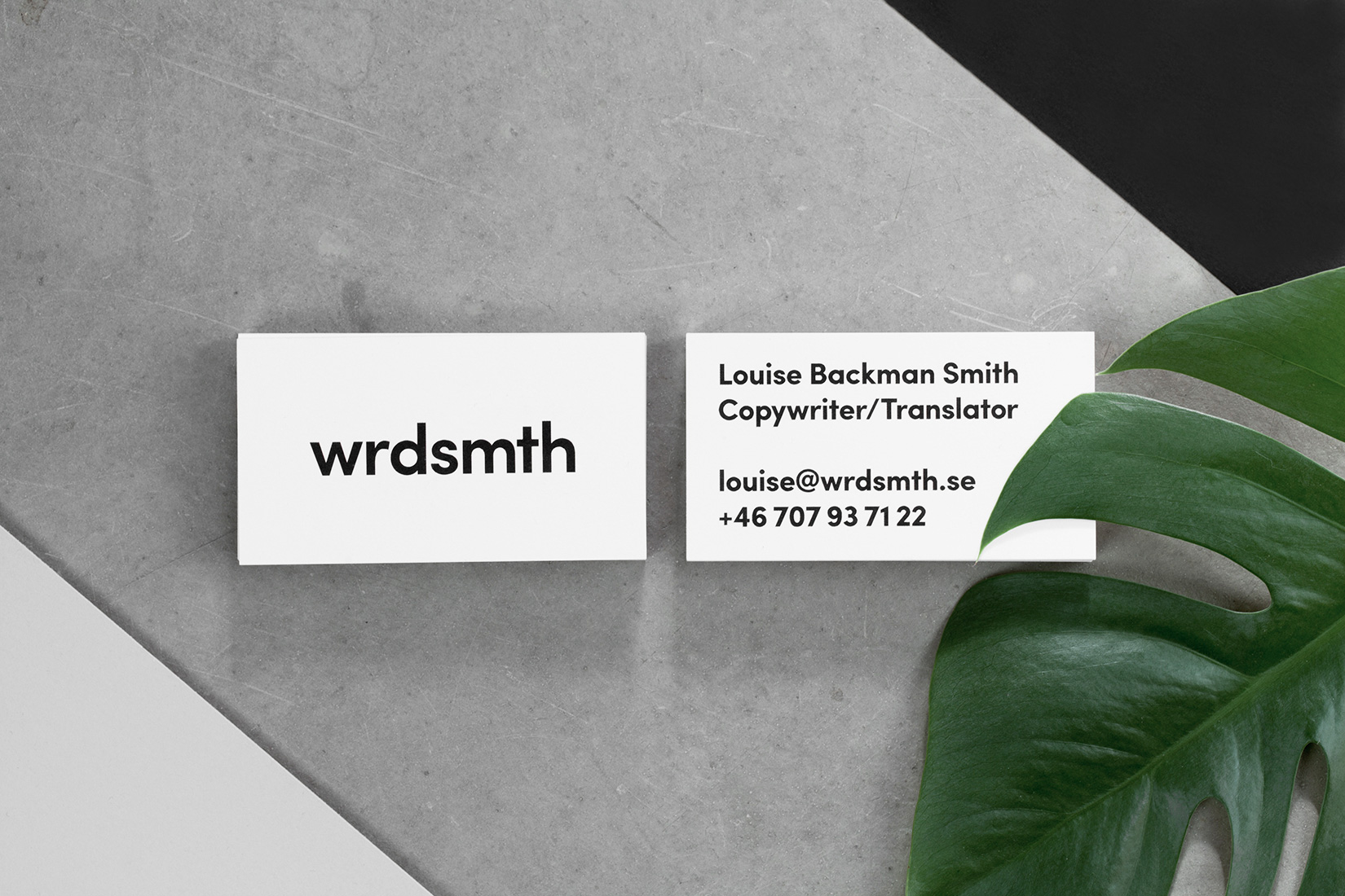 Louise Backman Smith – wrdsmth – identity