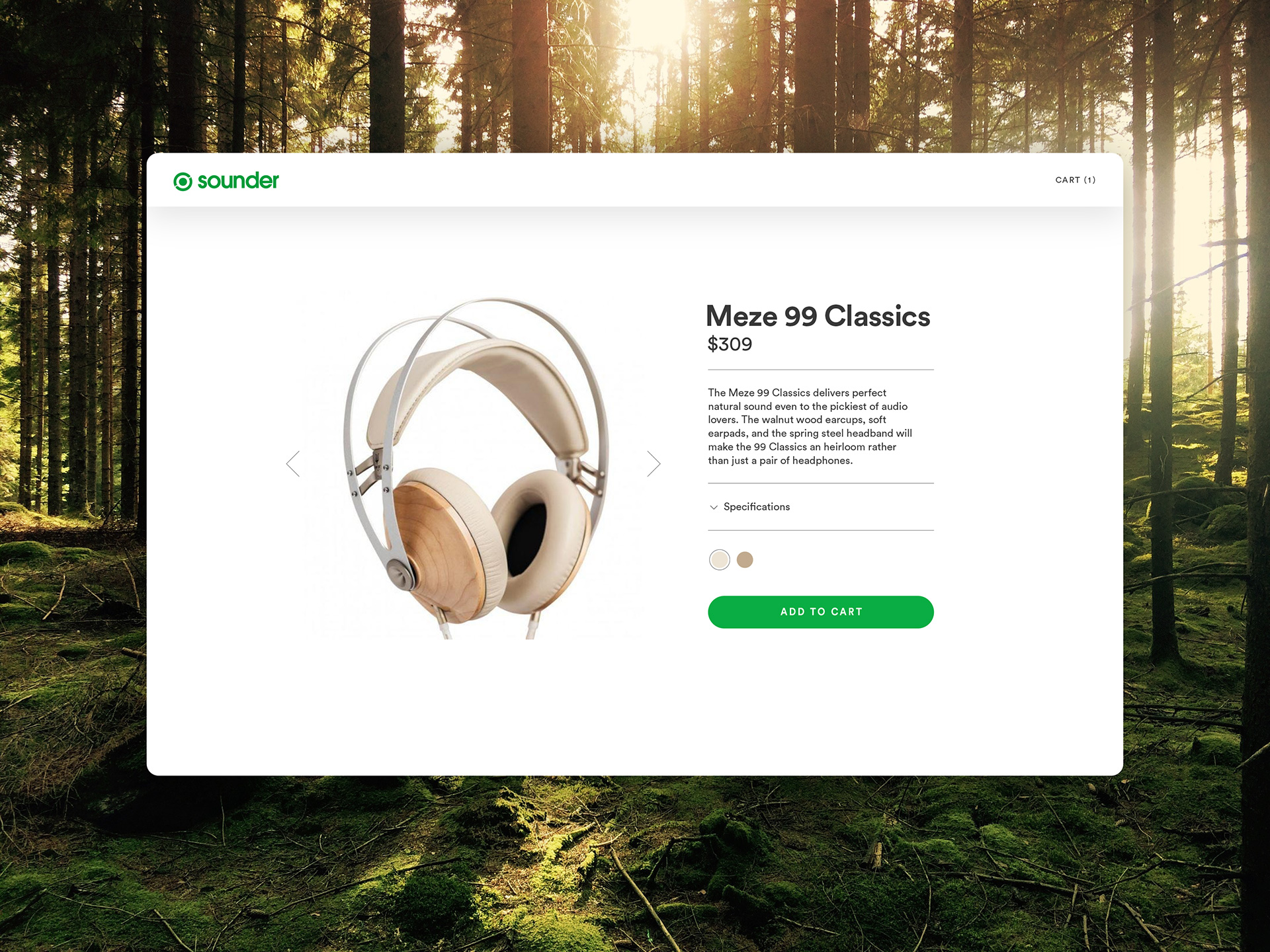 Sounder headphones